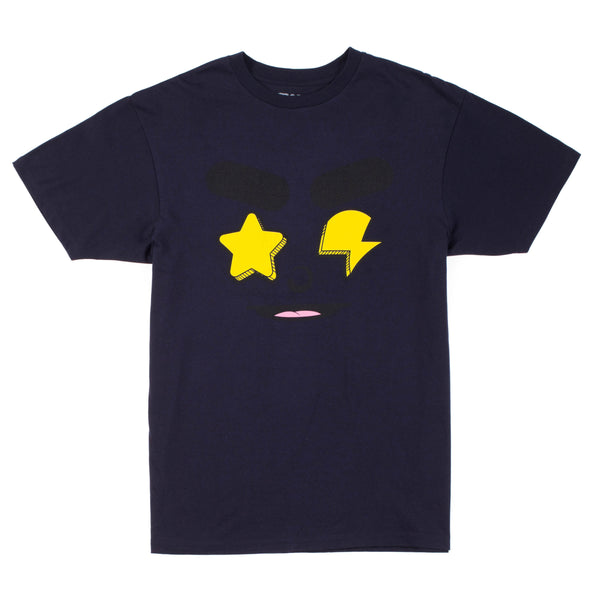 Glo Gang Real Eyez Tee (Navy)