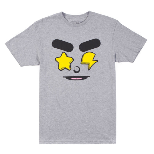 Glo Gang Real Eyez Tee (Grey)