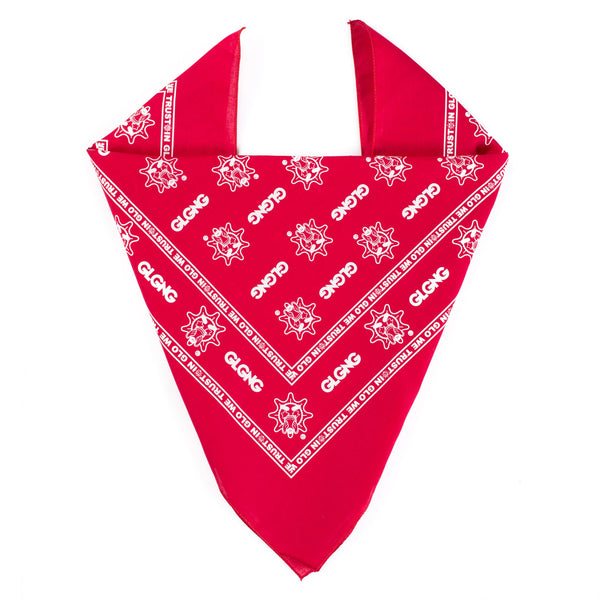 In Glo We Trust Bandana (Red)