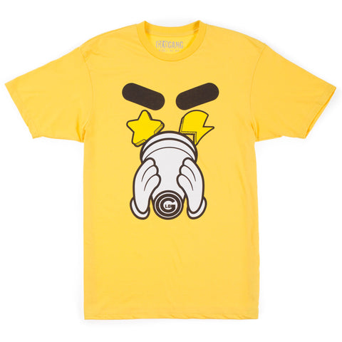 Glo Cup Sippin Tee (Yellow)