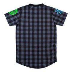 Glo Cup Plaid Tee (Black/Pink)