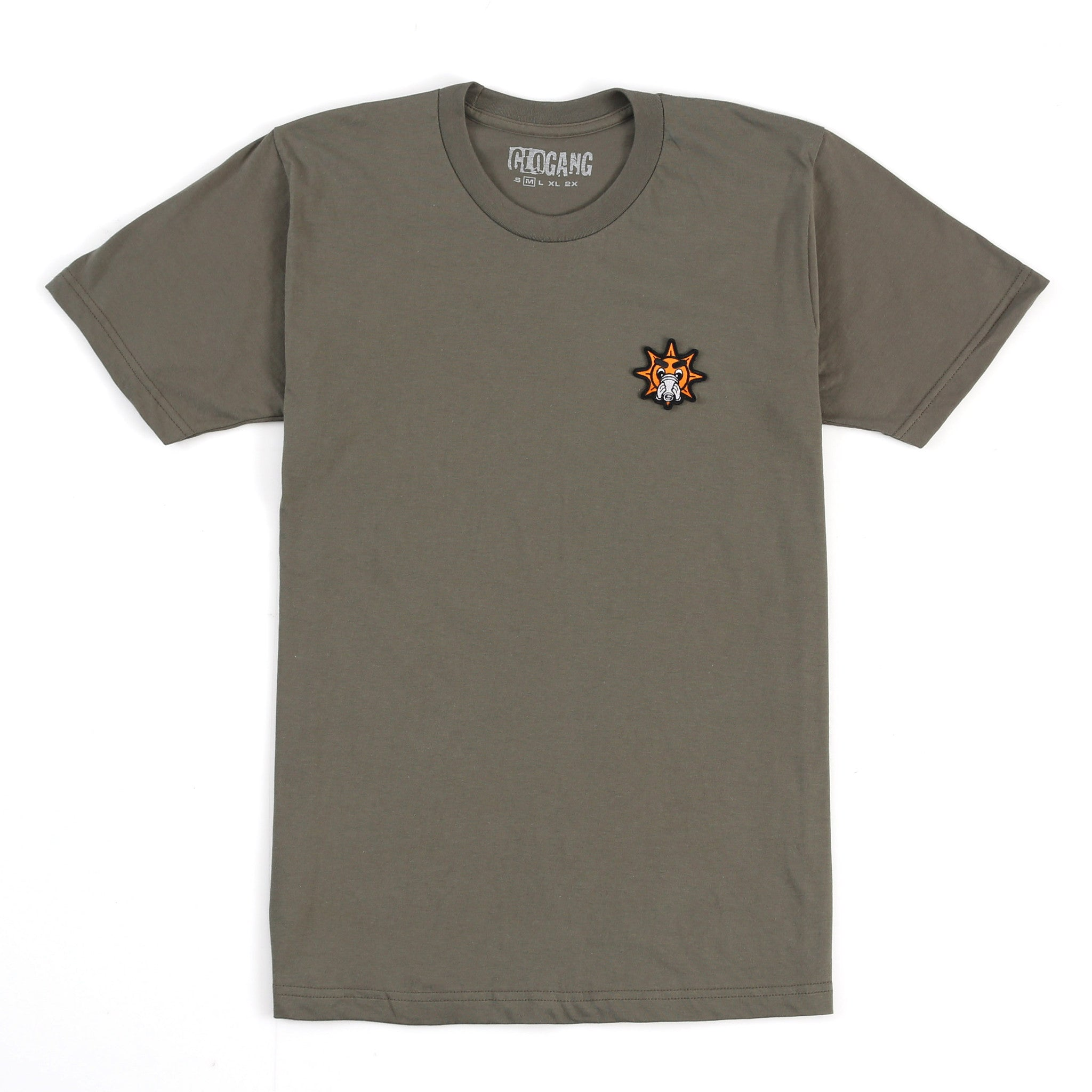 Glo Cup Lieutenant Patch Tee (Army Green)