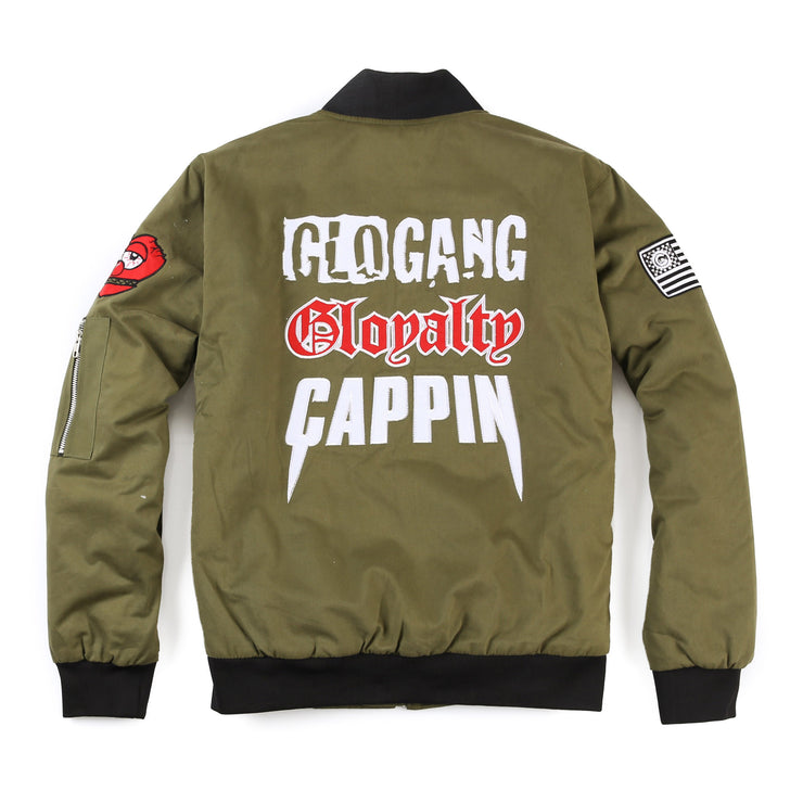 Cappin Bomber Jacket (Olive)