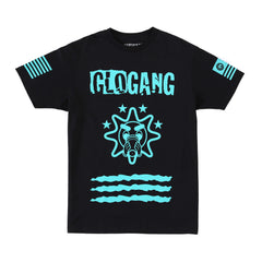 Gloyalty 300 Flag Tee (Black/Teal)
