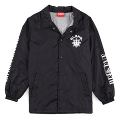 Glo Gang Coach Jacket (Black)