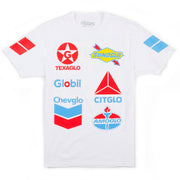 Glo Gas Tee (White)