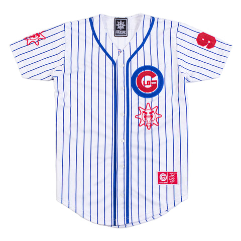 ChicaGlo Baseball Jersey (White)