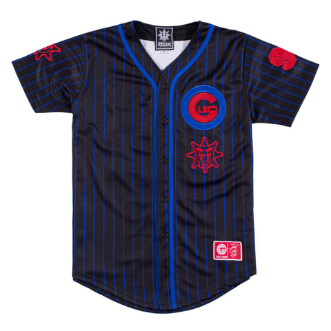 ChicaGlo Baseball Jersey (Black)
