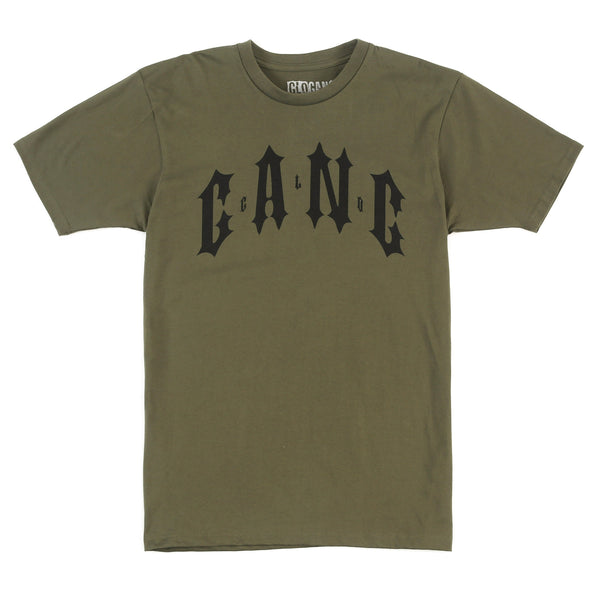 Glo Gang G Tee (Army Green)