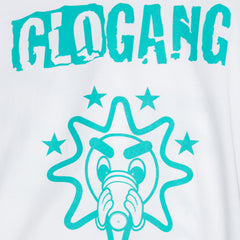 Gloyalty 300 Flag Tee (White/Teal)