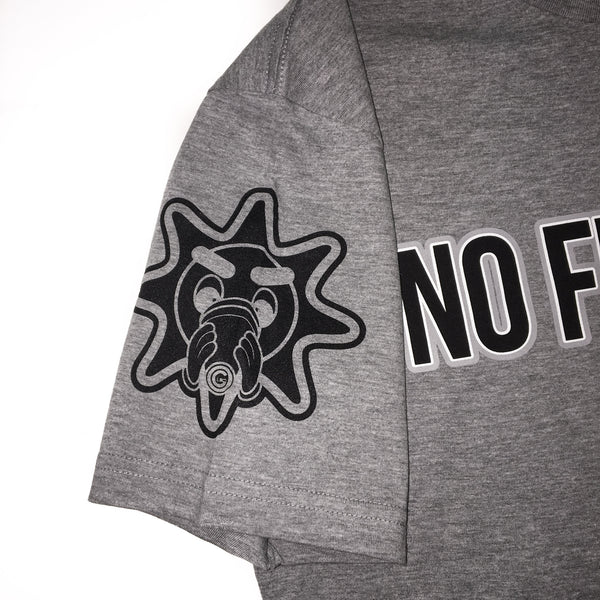 No Fu ShxT Tee (Heather)