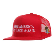 Make America Glo Hard Again Trucker Hat (Red)