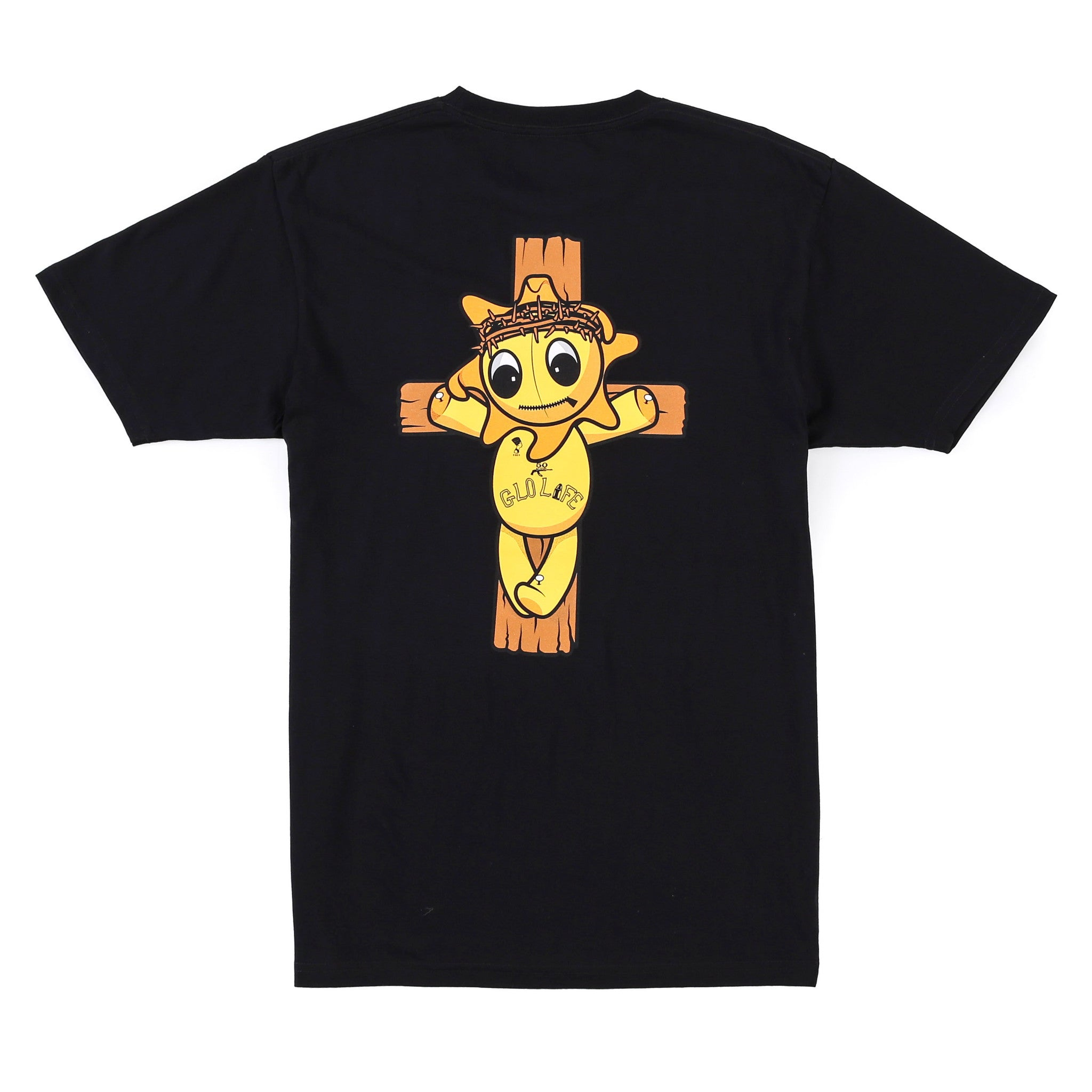 Glo Religion Cross Tee (Black)