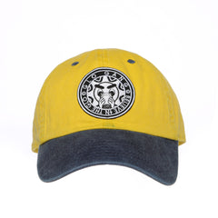 No Goofy No Fu Dad Hat (Yellow/Blue)