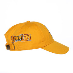 Cappin & Boolin Dad Hat (Gold)