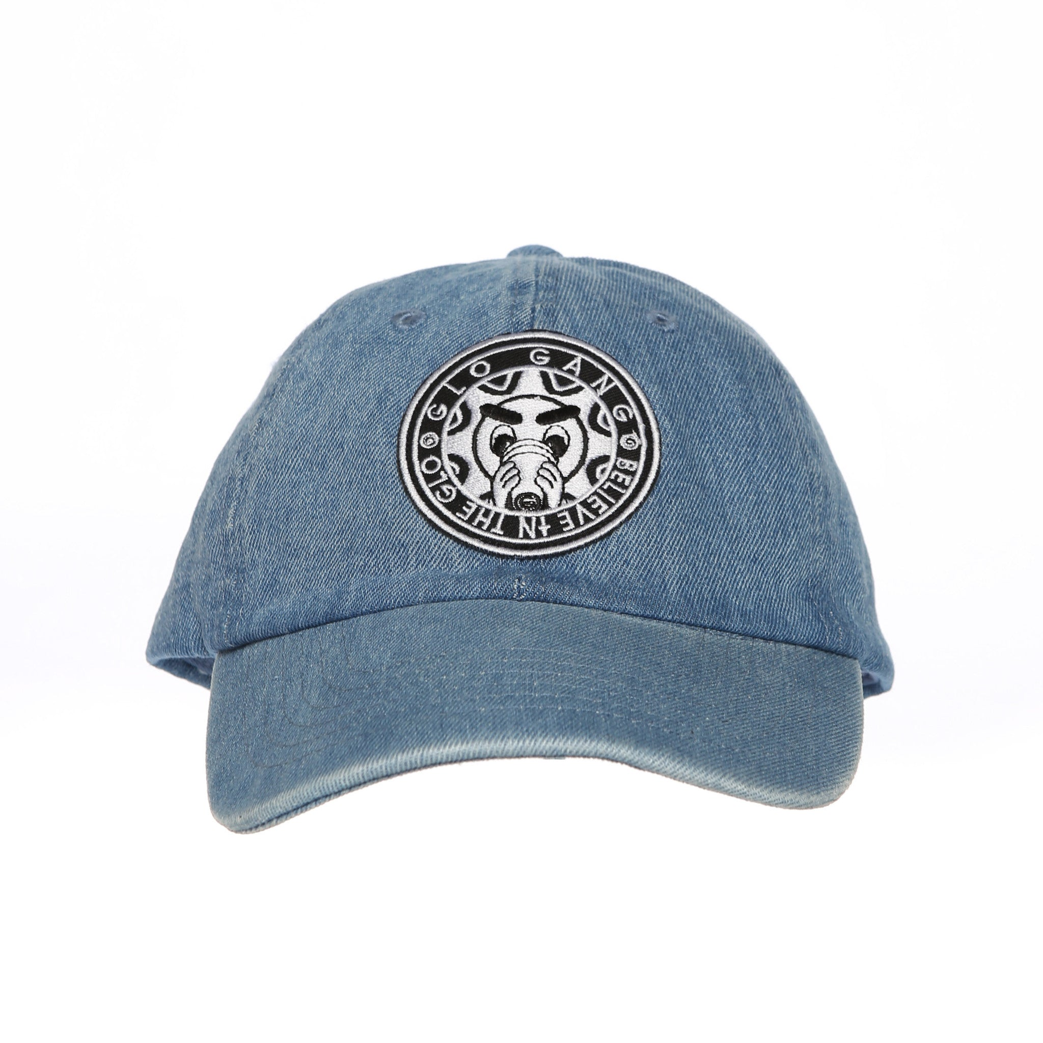No Goofy No Fu Dad Hat (Light Blue Denim)