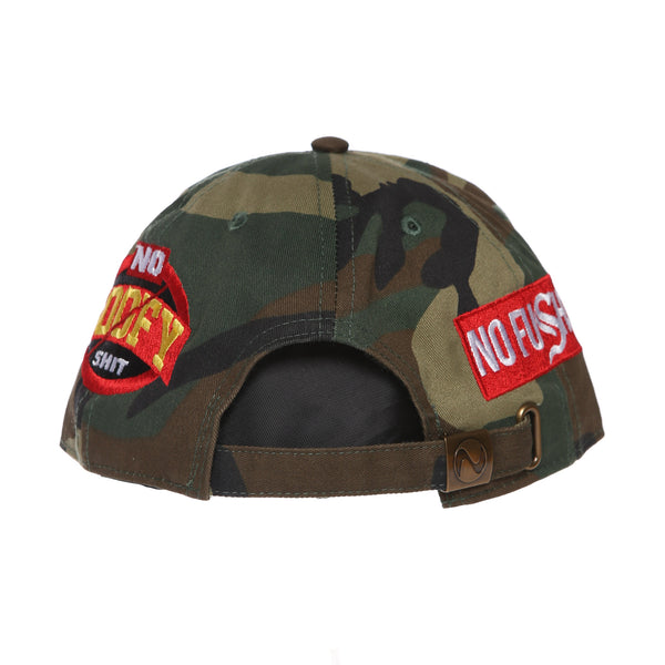 No Goofy No Fu Dad Hat (Camo)
