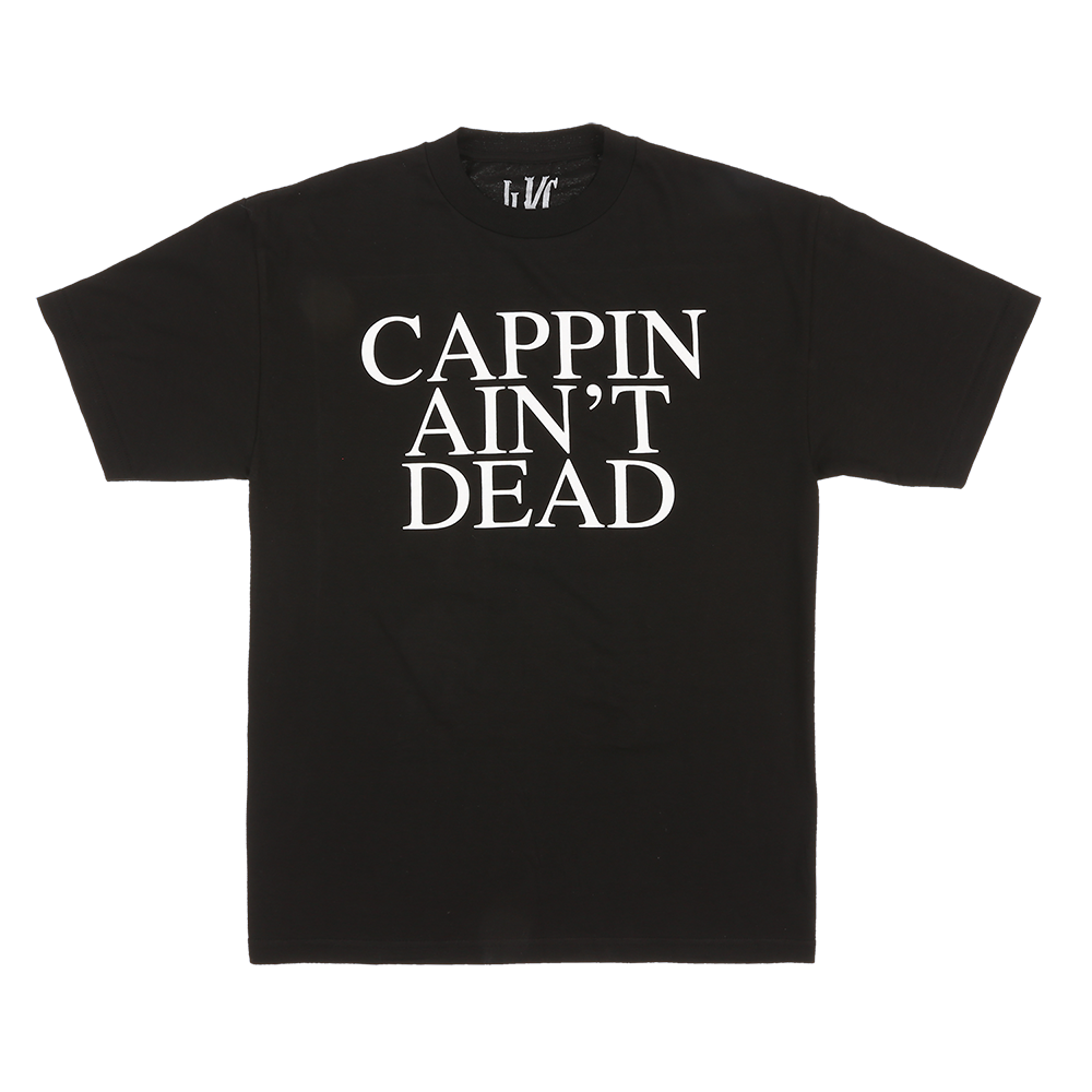Cappin' Ain't Dead Tee (Black)
