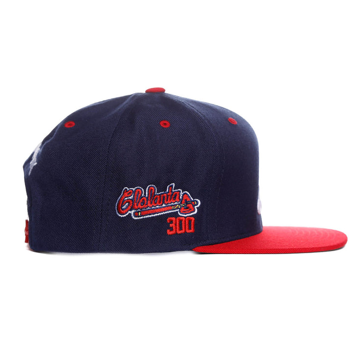 Glo University Atlanta Snapback (Navy/Red)