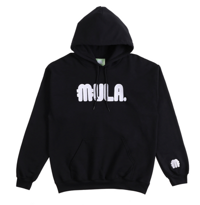 MULA Embroidered Hoodie (Black)