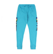 Glory University Chenille Primary Patch Sweatpants (Aqua)