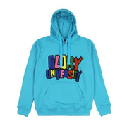 Glory University Chenille Primary Patch Hoodie (Aqua)