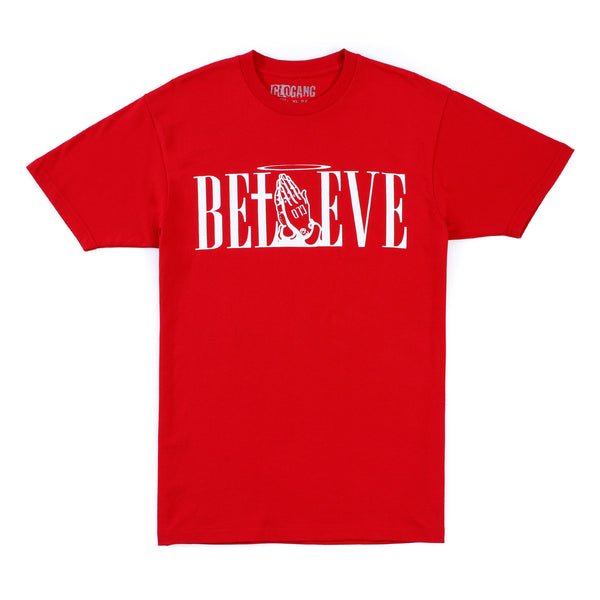 Believe Tee (Red)