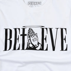 Believe Tee (White)