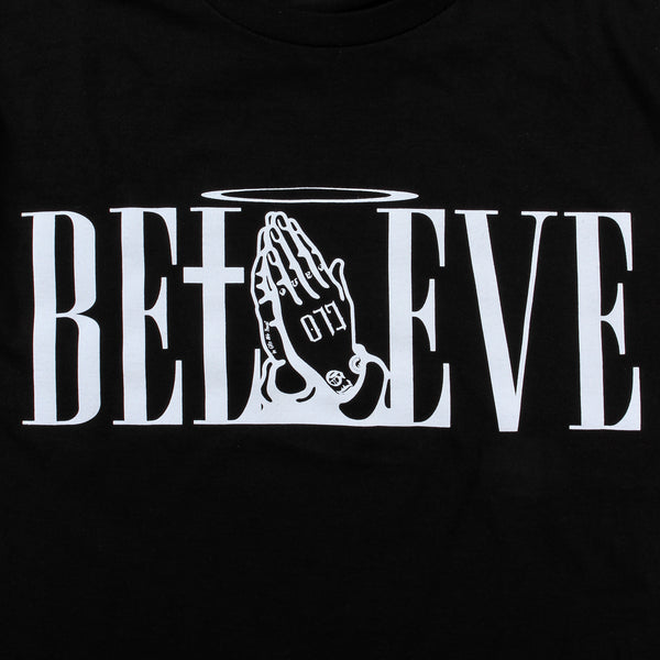 Believe Tee (Black)