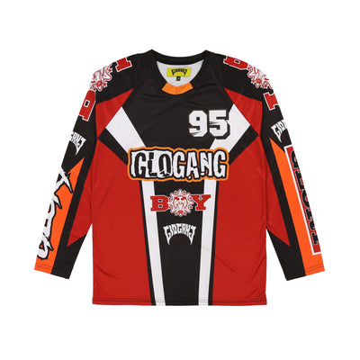 Glo Gang Motorcross Longsleeve (Red)