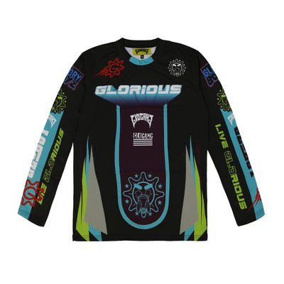 Glorious Motorcross Longsleeve (Black)