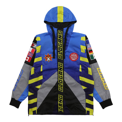 Flag Windbreaker (Blue)