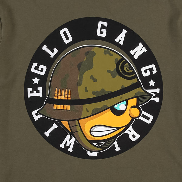 Glo Army Tee (Military Green)
