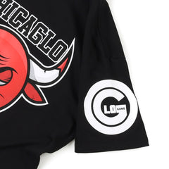 Chicaglo Bulls Tee (Black)