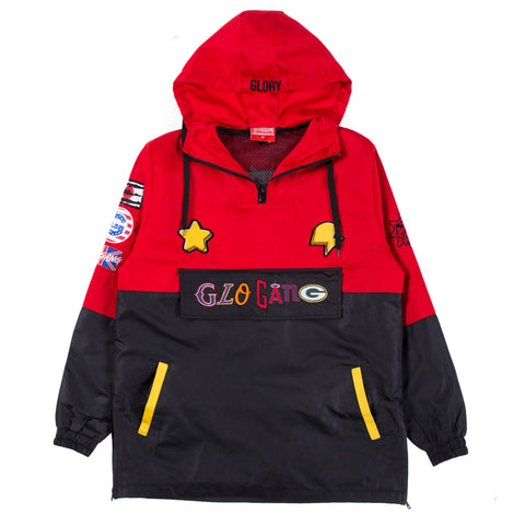 Glo Gang Team Pull Over (Red)