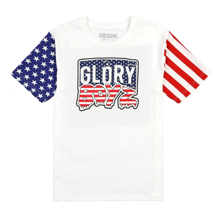 Glory Boyz Flag Tee (White)