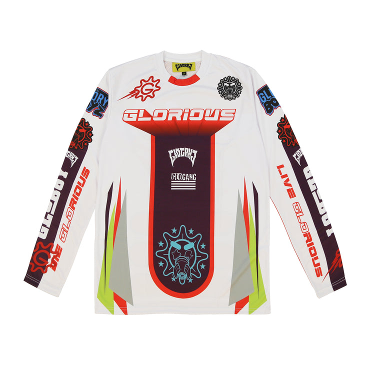 Glorious Motorcross Longsleeve (Red)