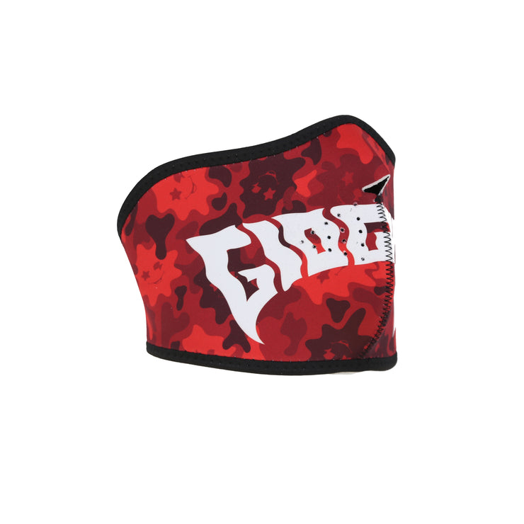 Glo Gang Face Mask (Red)