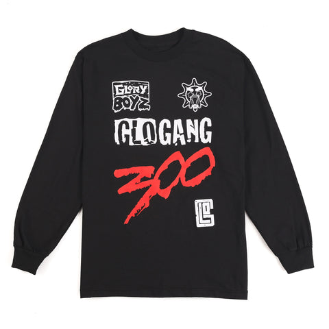Glory Boyz x Glo Gang Long Sleeve (Black)