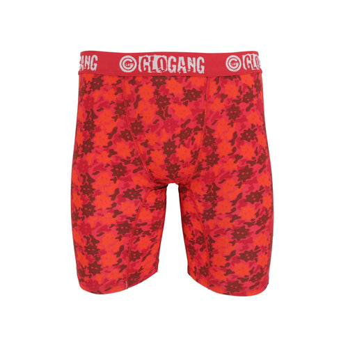 Glo Gang Camo Boxer Briefs (Red)