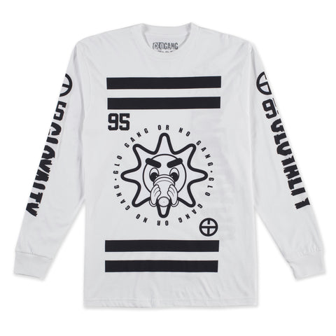 No Gang Long Sleeve (White)
