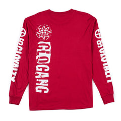 No Gang Long Sleeve (Red)