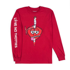 Love No Thottie Long Sleeve (Red)
