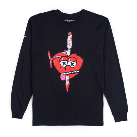 Love No Thottie Long Sleeve  (Black)