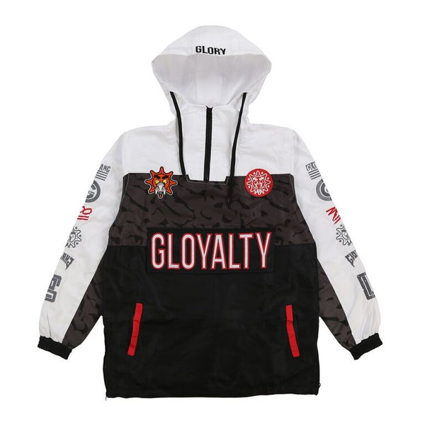 Gloyalty Pullover Jacket (White)