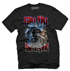 Glo Up or Die Trying Tee (Black)