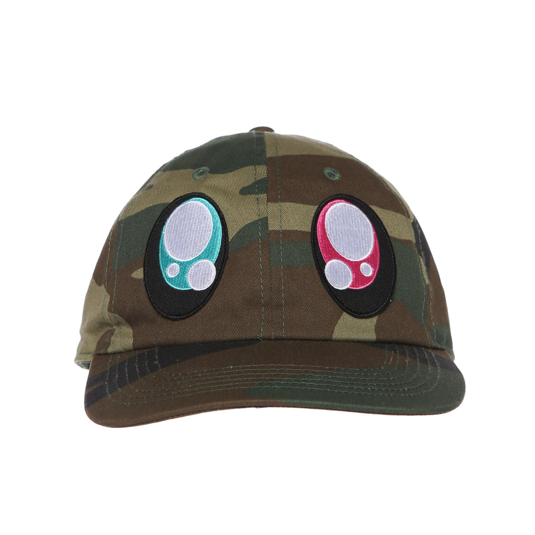 Eyes Dad Hat (Camo)