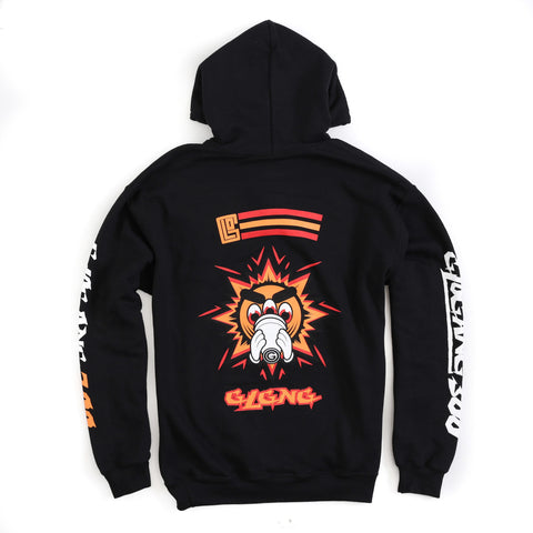 Buzzed Out Hoodie (Black)