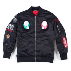 Real Eyes Bomber (Black)