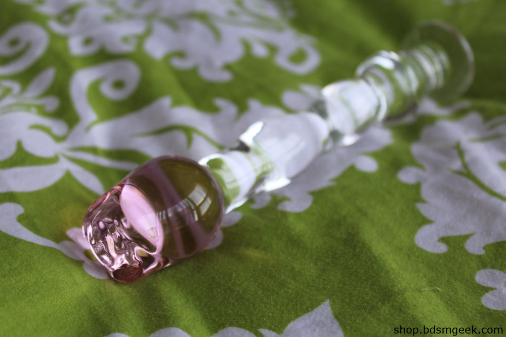 Pyrex Glass Rose Wand, Default Title - BDSMGeek Shop - 4